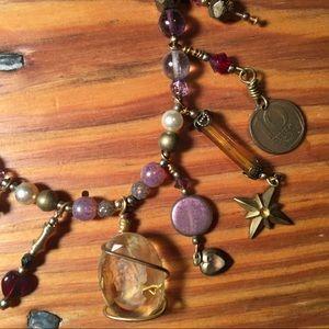 Jewelry - Artisan Charm Necklace